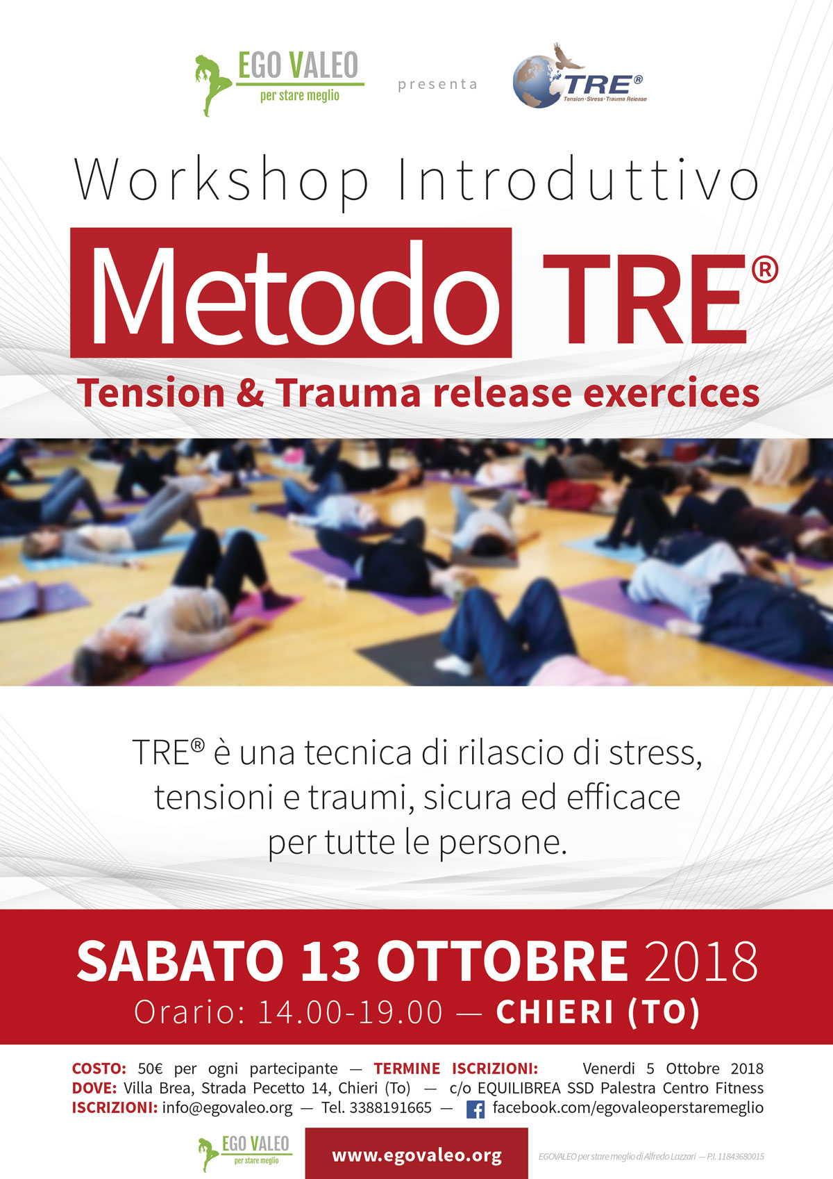 Metodo TRE – workshop introduttivo