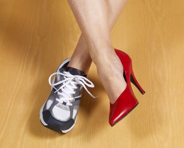 Tutto inizia dalla scarpa giusta
